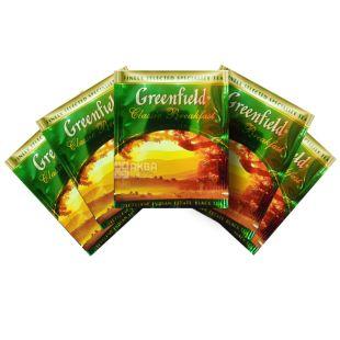 Greenfield, Classic Breakfast, 100 пак., Чай Гринфилд, Классик Брекфаст, черный индийский, ХоРеКа