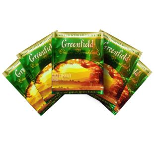 Greenfield Classic Breakfast Indian Black Tea, 100pak, HoReCa