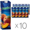 Sandora, Персиковий, Упаковка 10 шт. по 0,95 л, Сандора, Нектар натуральний