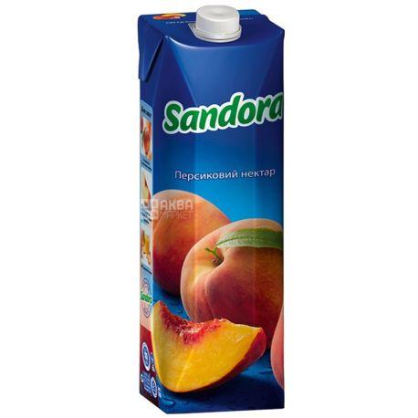Sandora Нектар персиковый, 0.95л, тетрапак, упаковка 10шт