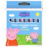 Peppa Pig, Карандаши цветные, восковые, толстые, 8 шт., картон