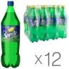 Sprite, Упаковка 12 шт. по 1 л, Спрайт, Вода солодка, зі смаком лайма і лимона, ПЕТ