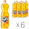 Fanta Orange Drink carbonated, 1.5l, PET, pack of 6 bottles