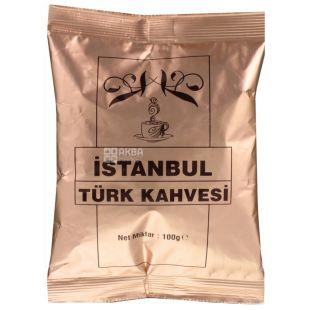 Турецкий кофе Istanbul, 100г, молотый, м/у
