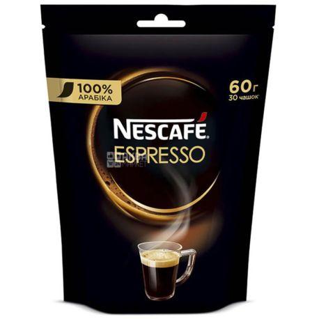 Nescafe Espresso, растворимый кофе, 60 г, м/у