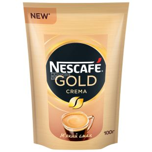 Nescafe Classic Crema, Кава розчинна, 100 г