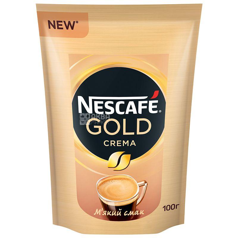 Nescafe Classic Crema, растворимый кофе, 100 г, м/у