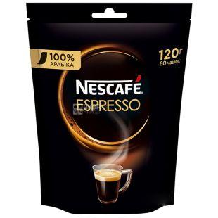 Nescafe Espresso, 120 г, Кофе Нескафе Эспрессо, растворимый