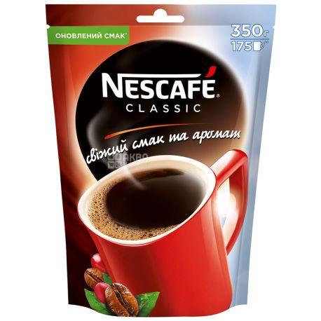 Nescafe Classic, растворимый кофе, 350 г, м/у