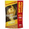 Черная Карта Gold 400 г +100 г в подарок, растворимый кофе, 500 г, м/у