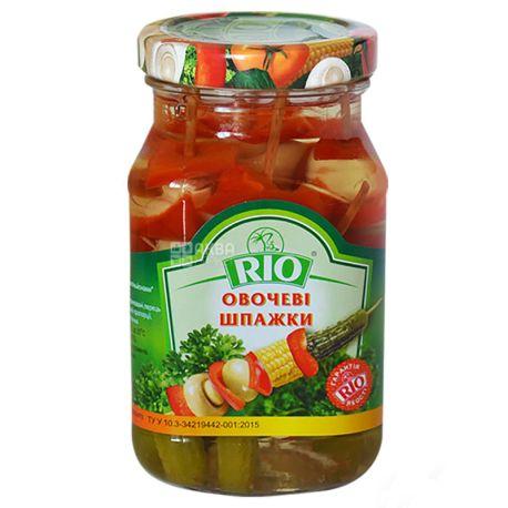 RIO, Овощные шпажки, 300 мл, стекло