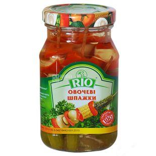RIO, Овочеві шпажки, 300 мл, скло
