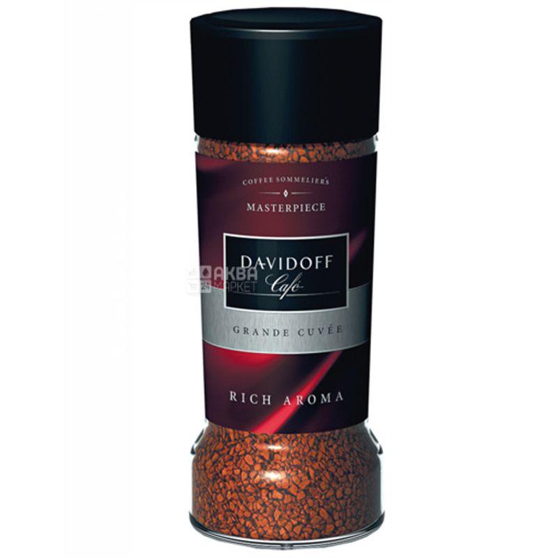 Davidoff, 100 г, сублимированный, растворимый кофе, Rich Aroma, стекло