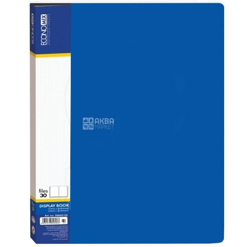 Economix Папка на 30 файлов, Ассорти, А4