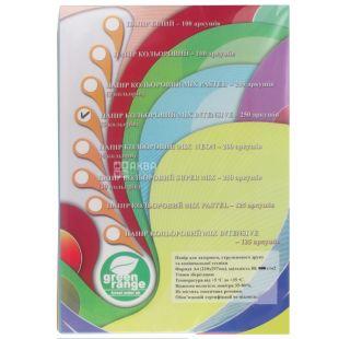 IQ color Mix intensiv, Папір офісна різнобарвна, 80 г / м2, 250 аркушів