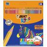 BIC Evolution, Олівці кольорові, 24 шт., картон