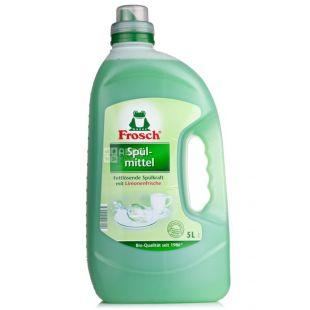 Frosch 5 L, Phosphate-Free Dishwashing Balm, PET
