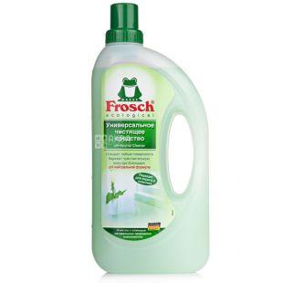 Frosch, 1 л, Средство для мытья полов и стен, Универсальное