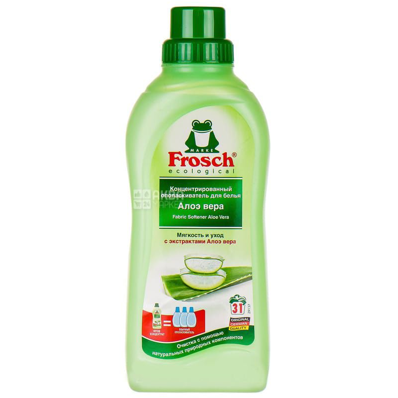 Frosch, 750 ml, Rinse conditioner, Aloe Vera