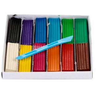 Cool For School Little Fairy, Пластилін, 12 кольорів, 240 г, картон
