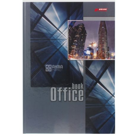 Brick Канцелярская Книга в твердой обложке, А4, 176 листов