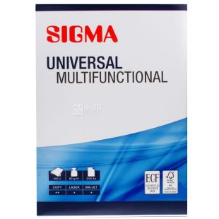 Sigma, Sigma Universal Universal Office Paper, A4, 500 sheets, 80g / m2