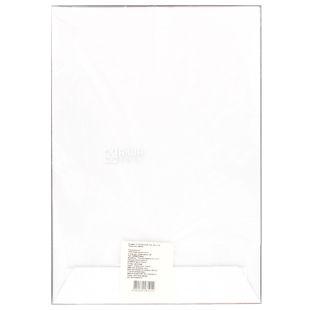 Укрпапір Конверт, формат С4, білий, клапан СКЛ, 90 г/м², 20 шт, паперовий пакет