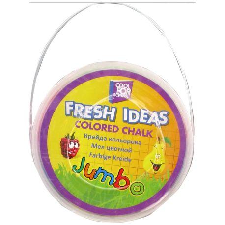 Cool For School Fresh Ideas Мел цветной, 15шт, пластиковая упаковка