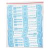 АкваМаркет, 10 упаковок по 200 стіків, Цукор білий у стіках, Кристалічний, п/у