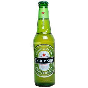 Heineken Premium Quality, Пиво светлое фильтрованное, 0,33 л