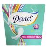 Discreet, 100 шт., прокладки, ежедневные, Deo Water Lily Multiform