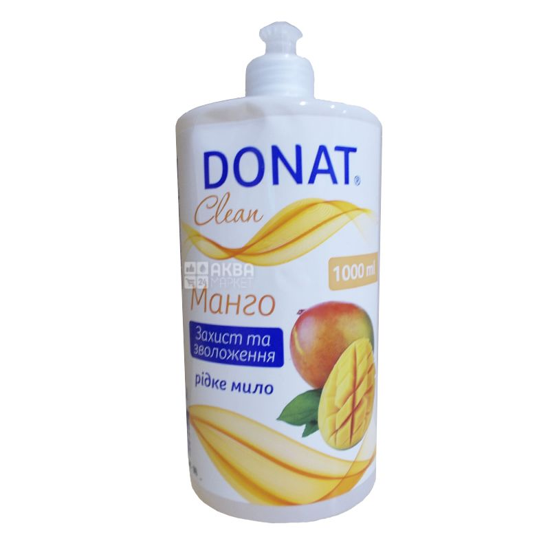 Donat, 1 л, рідке мило, манго