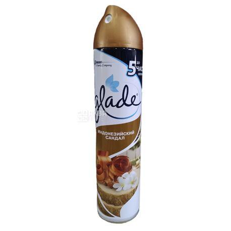 Glade, 300 мл, освежитель воздуха, Индонезийский сандал, ж/б