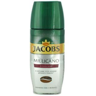 Jacobs Millicano Americano, 95 г, Кофе Якобс Милликано Американо, растворимый