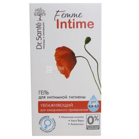 Dr. Sante, 230 мл, Гель для інтимної гігієни, Femme Intime, Зволожуючий