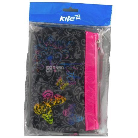 Kite Style K17-660 Пенал для девочек, разноцветный, полиэстер, пакет