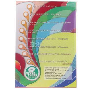 IQ color Mix intensiv, Папір офісна різнобарвна, 160 г / м2, 125 аркушів