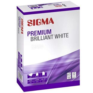 Sigma Premium Папір офісний, А4, 500 аркушів, паперовий пакет
