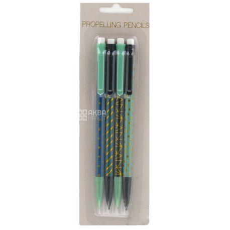 Koopman Ручки шариковые набор 4 шт, пластиковая упаковка