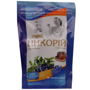 Galka, instant chicory with blueberries, 100 g, m / s
