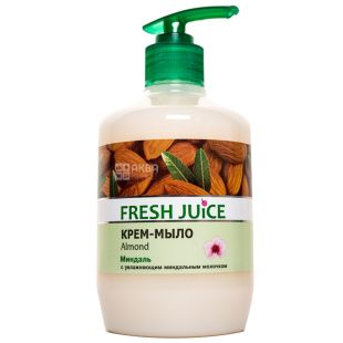 Fresh Juice, 460 ml, cream soap, almond