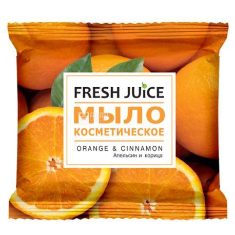 Fresh Juice 75 г, мило косметичне, Апельсин і кориця, м/у