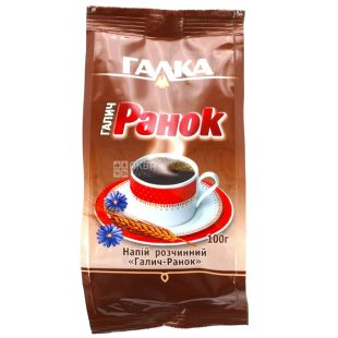 Galka Galich-Ranok, instant drink with chicory, 100 g, m / s