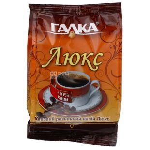 Галка Люкс, 100 г, Напиток растворимый с кофе и цикорием