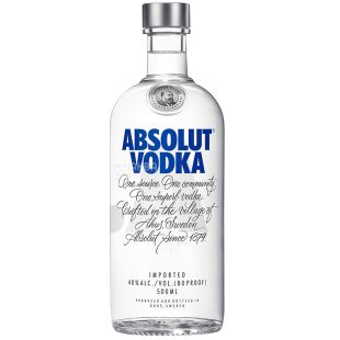 Absolut, Vodka, 40%, 0.5 L