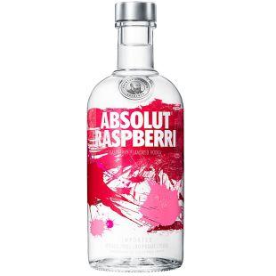 Absolut Raspberri, Горілка, 40%, 0,7 л