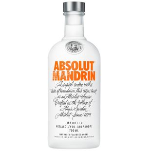 Absolut Mandrin, Vodka, 40%, 0.7 l