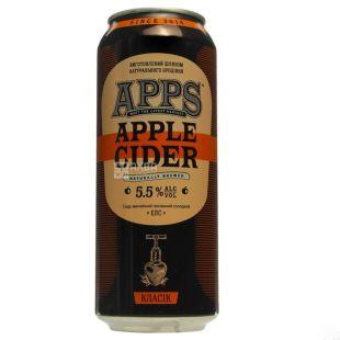 APPS, Classic Cider, 0.5 L, w / w