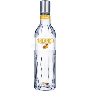 Finlandia, Vodka, Grapefruit, 37.5%, 0.5 L