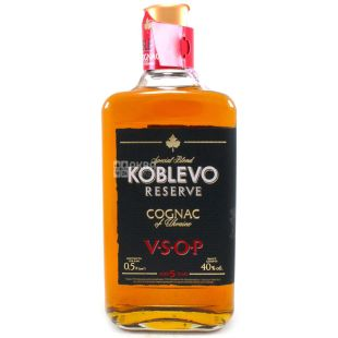 Koblevo Reserve VSOP коньяк, 5 лет видержки, 0,5